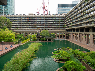 The Barbican: Green Space in the Heart of London